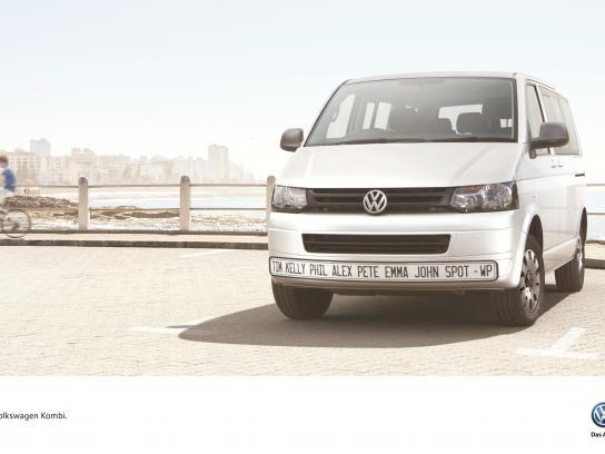 Volkswagen Print Ad -  Names