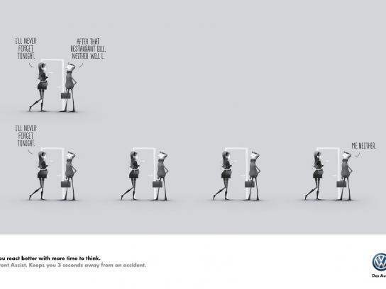 Volkswagen Print Ad -  Work