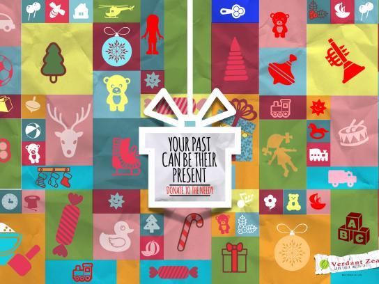 Verdant Zeal Print Ad - Spirit of Christmas