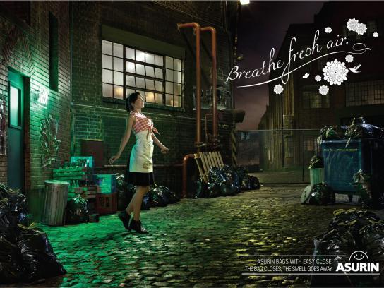 Asurin Print Ad -  Waitress