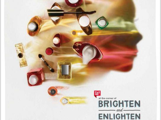 Walgreens Print Ad -  Brighten & Enlighten