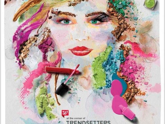 Walgreens Print Ad -  Trendsetters & Showstoppers