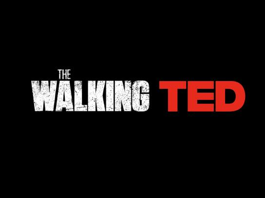 Netflix Print Ad - The Walking Ted