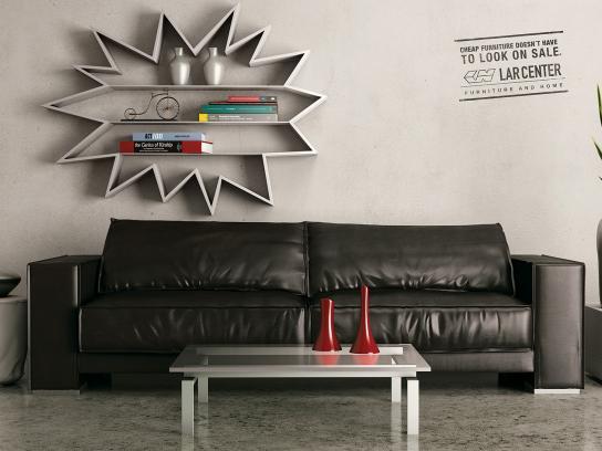 Lar Center Print Ad -  Wall