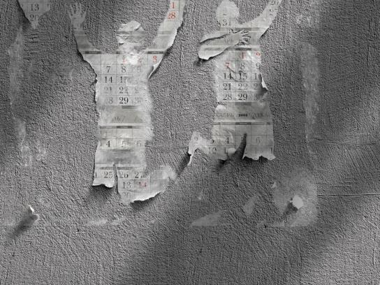 Blu Tack Print Ad -  Walls