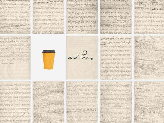 Lazy Coffee Print Ad - War and Peace