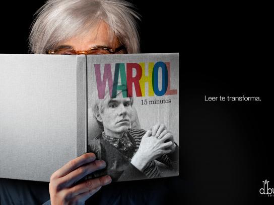 D'Buk Editors Print Ad -  Warhol