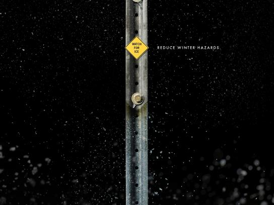 Acura Print Ad - Watch For Ice