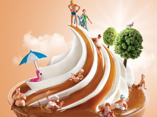 McDonald's Print Ad - Water Slide