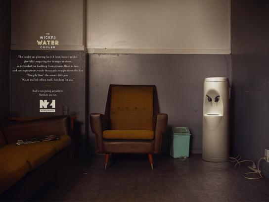 New Zealand Insurance Print Ad -  The wicked water cooler