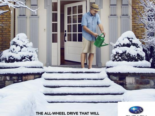 Quebec Subaru Dealers' Association Print Ad -  Forget winter, 3