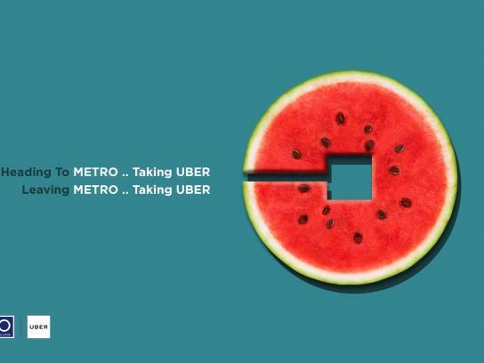 Metro Print Ad - Watermelon