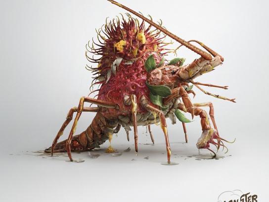 Watsons Print Ad -  Lobster