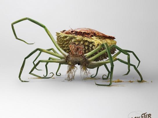 Watsons Print Ad -  Crab