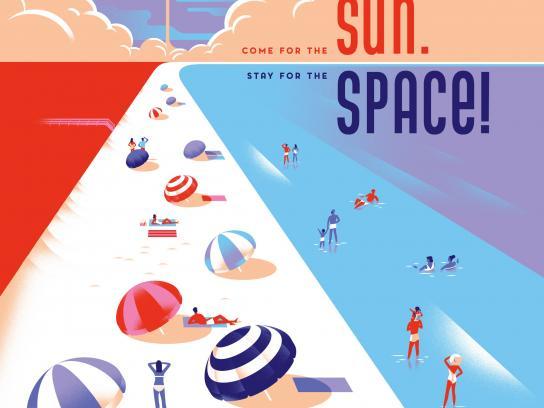 Space Florida Outdoor Ad - Sun Space