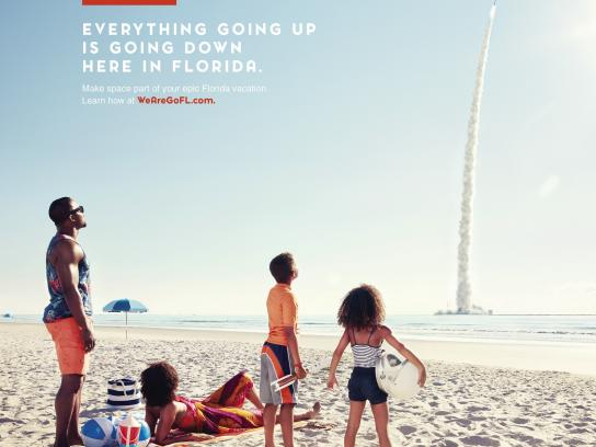 Space Florida Print Ad - Going Up
