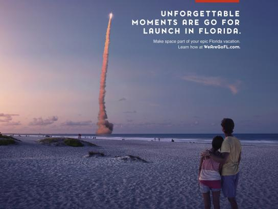 Space Florida Print Ad - Unforgetable