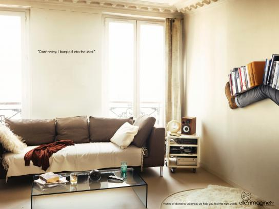 Elle's Imagine'nt Print Ad -  The right words, 2