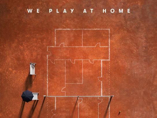 Vanguard Properties Print Ad - We Play At Home