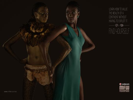 Mozambique Fashion Week Print Ad -  Wealth