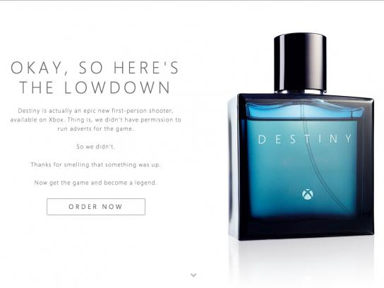 Xbox Digital Ad -  The new fragrance by Xbox