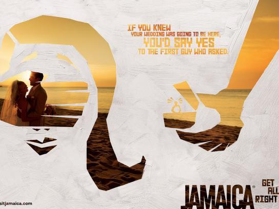 Jamaica Tourist Board Print Ad -  Wedding