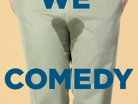 Sirius Print Ad -  We Love Comedy, 1