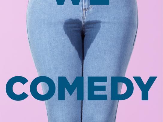 Sirius Print Ad -  We Love Comedy, 2