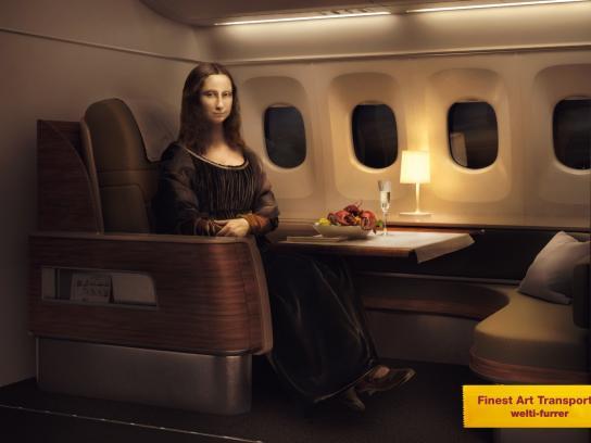 Welti-Furrer Print Ad -  Finest Art Transports, 1