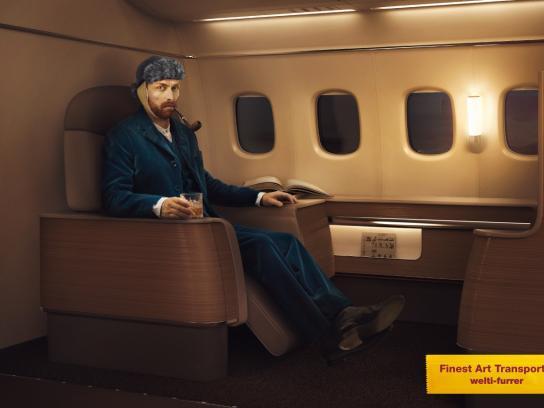 Welti-Furrer Print Ad -  Finest Art Transports, 2
