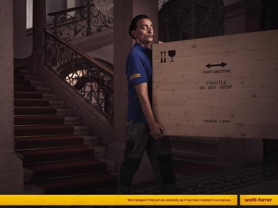 Welti-Furrer Print Ad - Salvador Dali