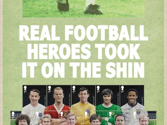Royal Mail Print Ad -  Real Heroes, 3