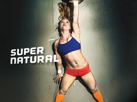 Wfit Nutrition Print Ad -  Super Natural, 2