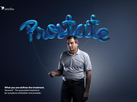 Astellas Farma Brasil Print Ad - What do you see? Blue