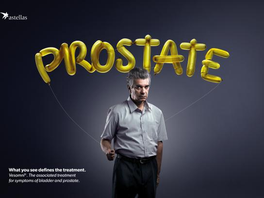 Astellas Farma Brasil Print Ad - What do you see? Yellow