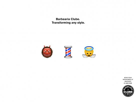 Barbearia Clube Print Ad -  Transforming any style, 2