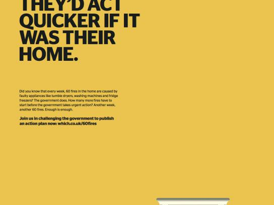 Which? Print Ad - House