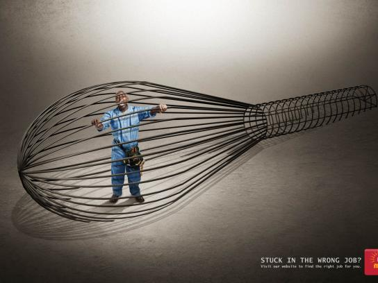 Brighter Monday Print Ad -  Whisk