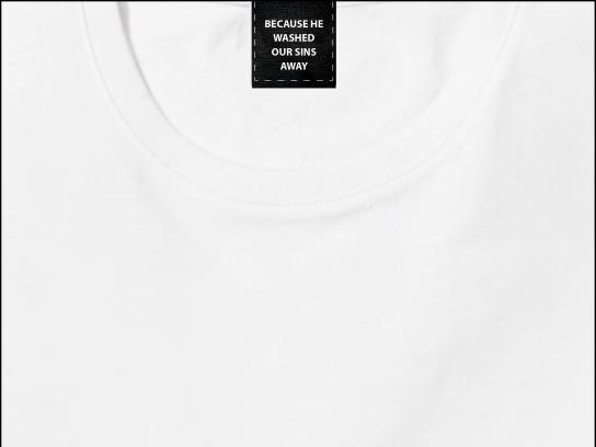 Sunlight Print Ad - White Shirt