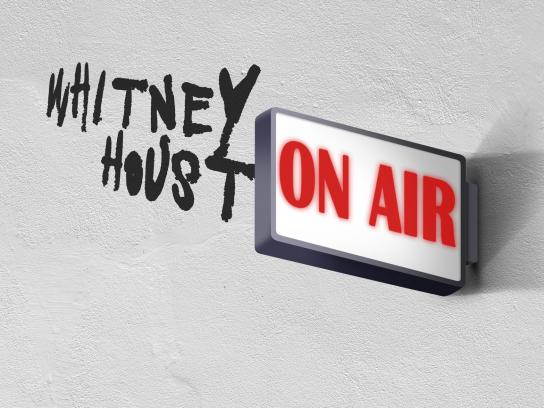 iHeart Radio Print Ad - Whitney Houston