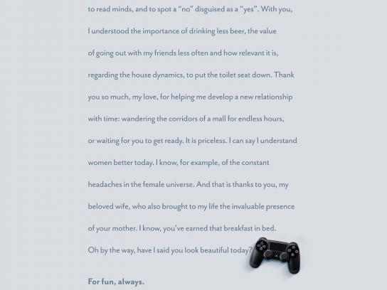 Brother Games Print Ad -  Wife