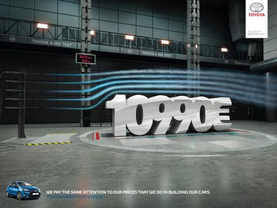 Toyota Print Ad -  Price, 2