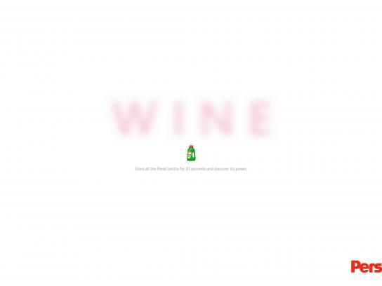 Persil Outdoor Ad -  Wine
