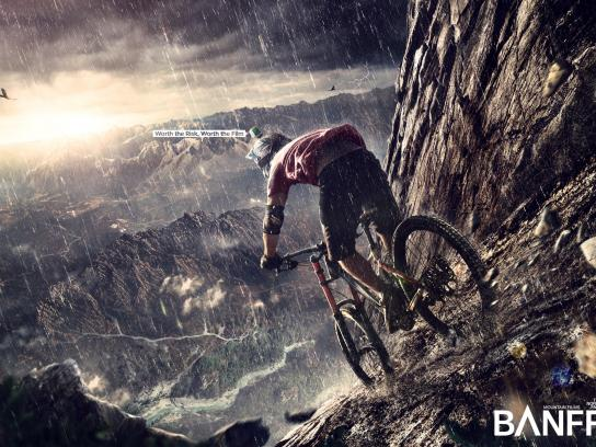 The North Face Print Ad - North Face Mountain Film Festival - Bike