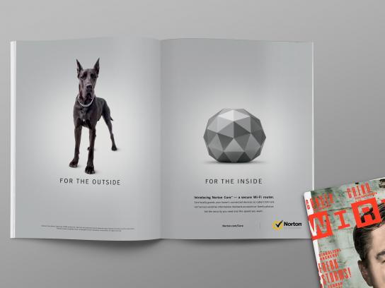 Norton Outdoor Ad - Wired Magazine
