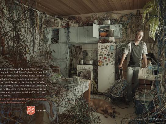 Salvation Army Print Ad -  Wires