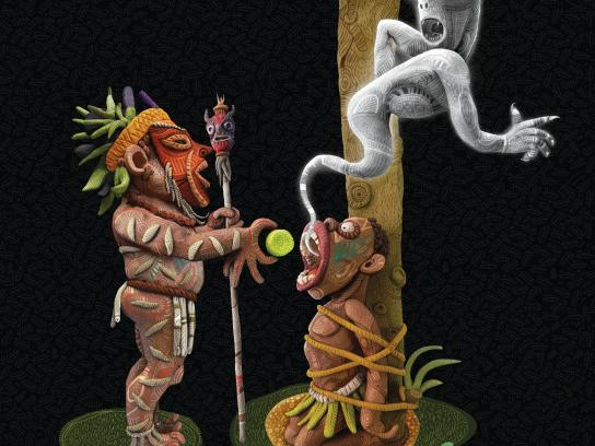 Mentos Print Ad -  Exorcism, 3