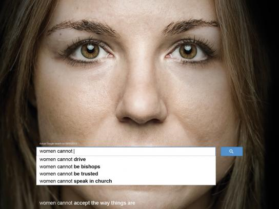 UN Women Print Ad -  Auto Complete Truth, 4