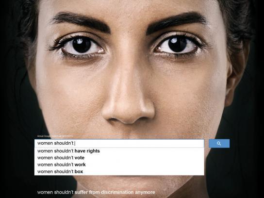 UN Women Print Ad -  Auto Complete Truth, 3
