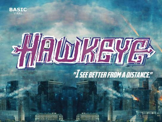 Deseno Print Ad - Women Superheroes - Hawkeye